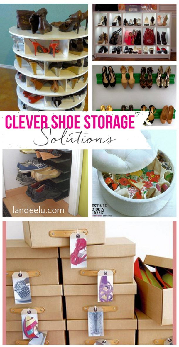 Clever shoe storage ideas - Best shoe storage solutions for small spaces paint ...