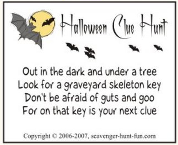 Halloween Invitation Rhymes for good invitations ideas