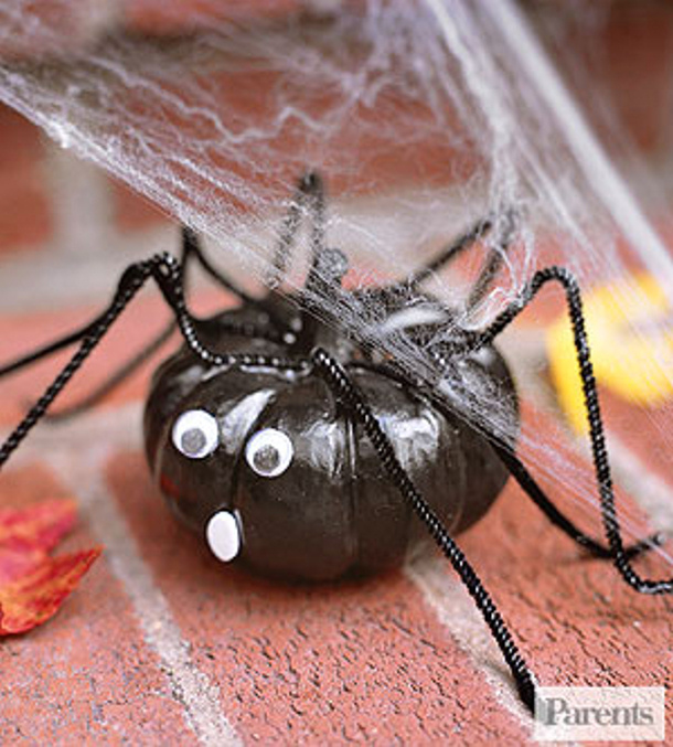 Spider Pumpkin via Parents Magazine