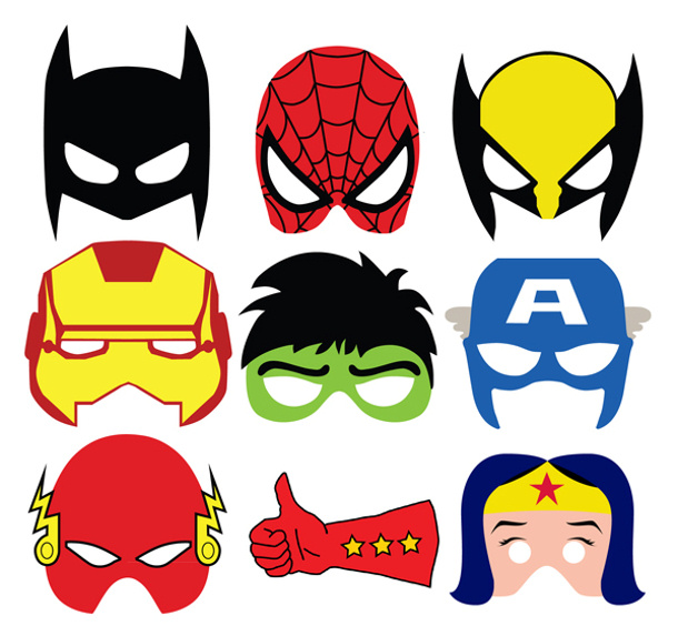 http://www.landeeseelandeedo.com/wp-content/uploads/2015/09/Superheroes-Masks-Photo-Props.jpg