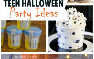 Teen Halloween Party Ideas ! Great ideas to throw an awesome Halloween party for teenages (and tweens!)