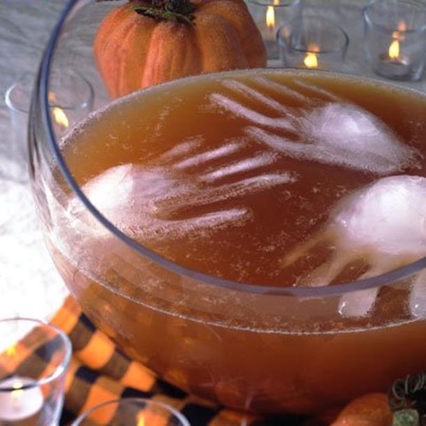 specimen cups of jello via ehow - Cool Halloween Party Ideas