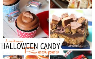 Leftover Halloween Candy Recipes! Whatever I don't eat out of my kid's trick-or-treat bags I can make into even BETTER treats! :)