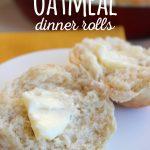 Oatmeal Dinner Rolls