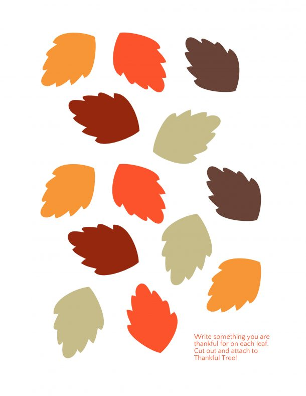 Delicate image regarding thankful tree printable