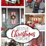 Festive Christmas Porch Decorating Ideas