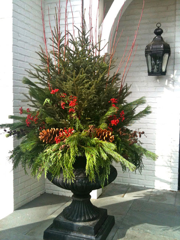 Porch Step Ideas For Christmas Decorating