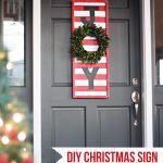 JOY DIY Christmas Sign