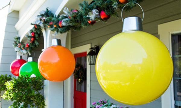 Giant Christmas Ornaments Hallmark