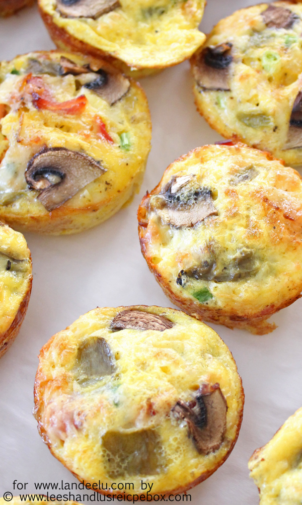Mini Hashbrown Bacon and Veggie Breakfast Casseroles (4) copy