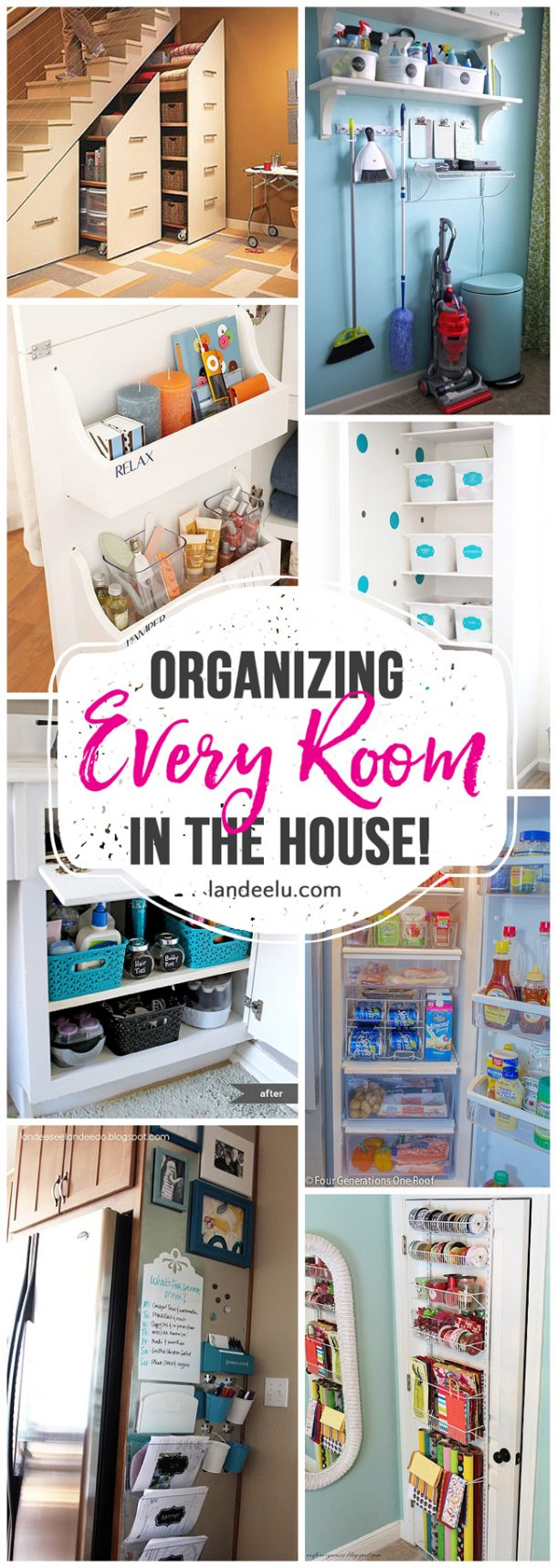 Pretty and inexpensive ways to organize your home Organizing your home