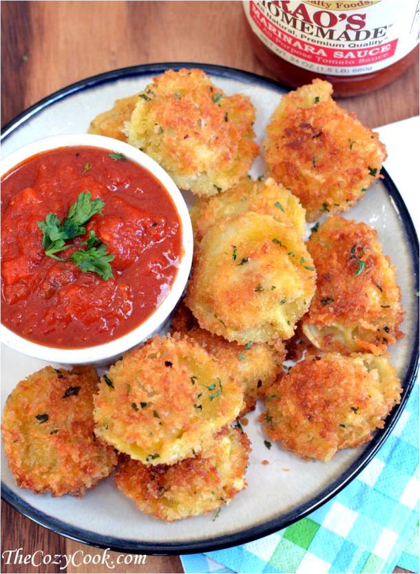 Parmesan-Tortellini-Bites the cozy cook
