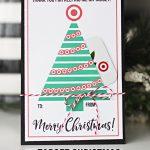Teacher Gift for Christmas: Target Gift Card Holder