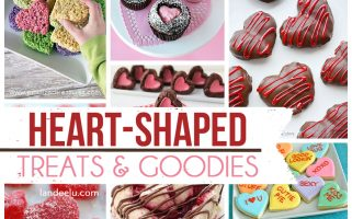 Heart-Shaped Cookies, Pies, Candy, Cinnamon Rolls, Donuts and more!!