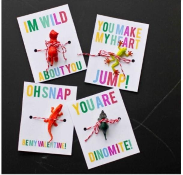 Tiny Animal Valentines Perfect for Boys Sweet Cs Designs