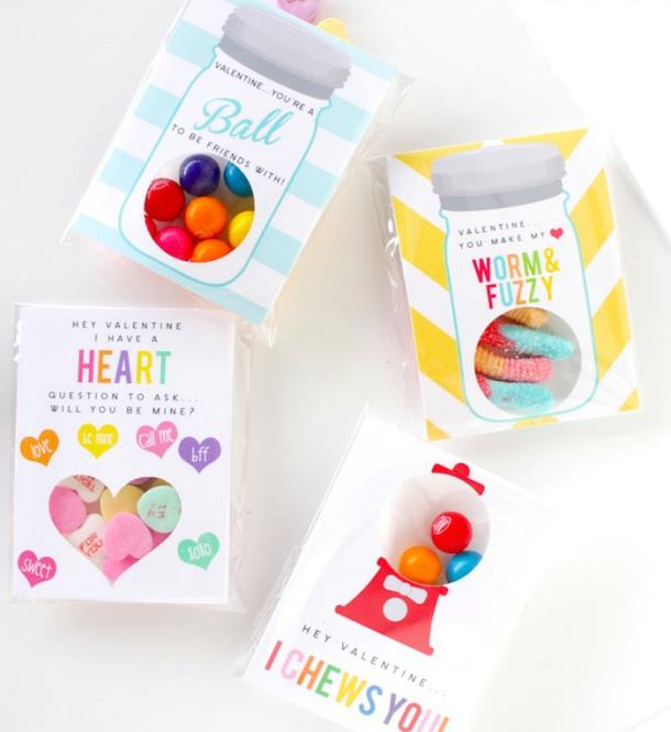 Perfekt Valentine Free Printables Petite Party Studio