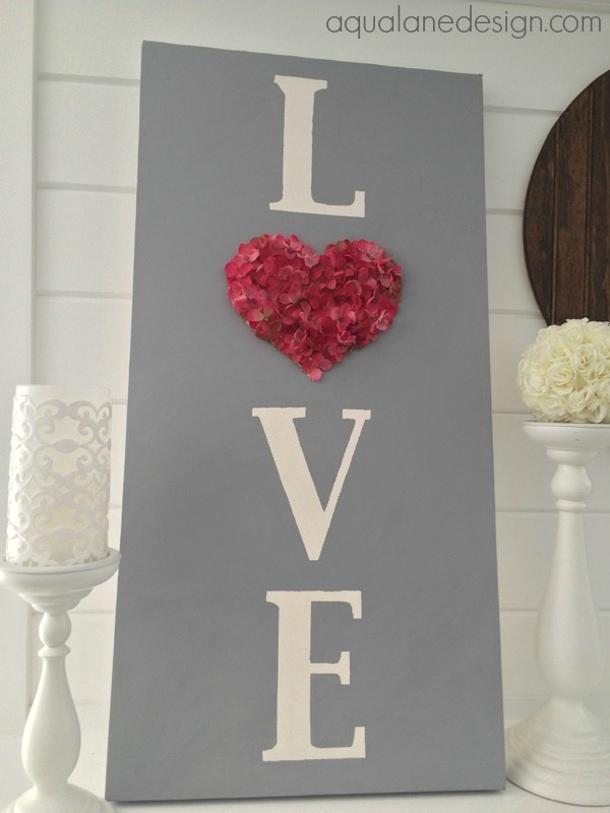 love-sign Aqua Lane Designs