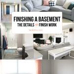 Finishing A Basement: Details and Finish Work