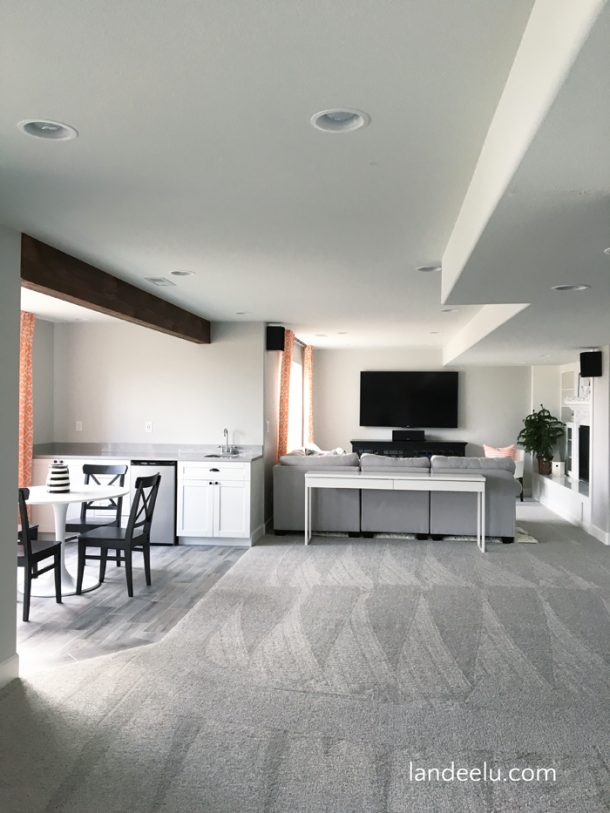 Finishing A Basement: The Family Room