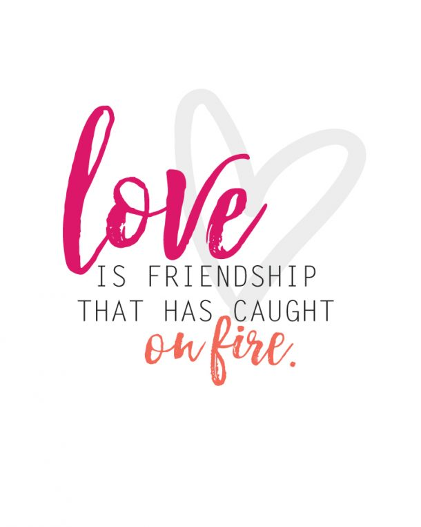 Sunday Encouragement: Love and Friendship - landeelu.com