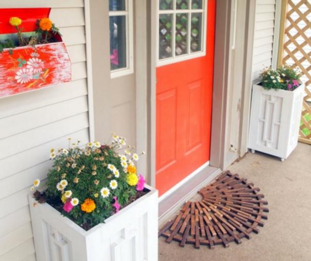Wooden DIY Doormat Reality Daydream