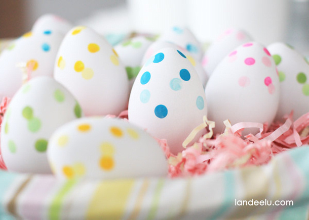 Confetti-Painted-Easter-Eggs