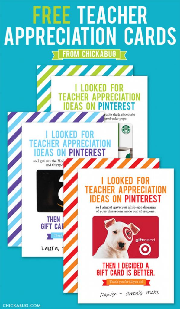 Teacher Appreciation Week Gift Ideas - landeelu.com