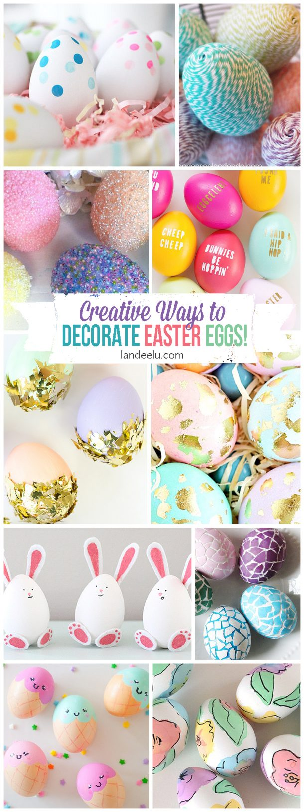 I Love All Of These Easter Egg Designs! I Want To Try Them All But