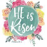 Sunday Encouragement: Easter Greetings