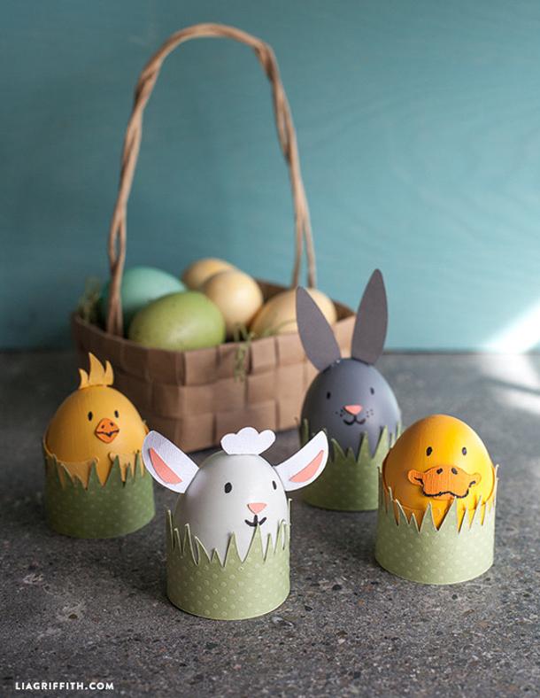 Kids_DIY_Easter_eggs farm animals via Lia Griffith