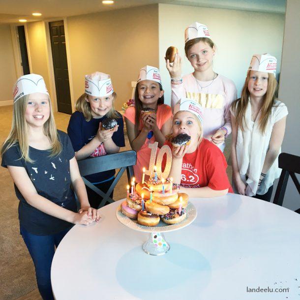 Free Birthday Krispy Kreme ~ Donut birthday party cake landeelu