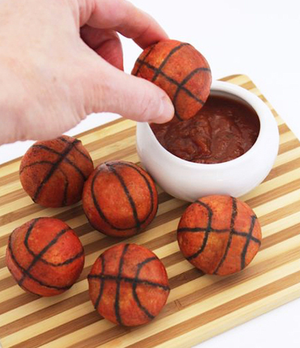 Basketball Cake Pops Recipe