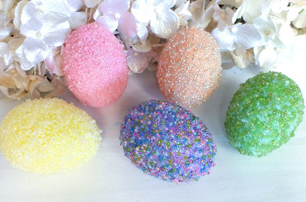 beaded-easter-eggs two sisters crafting