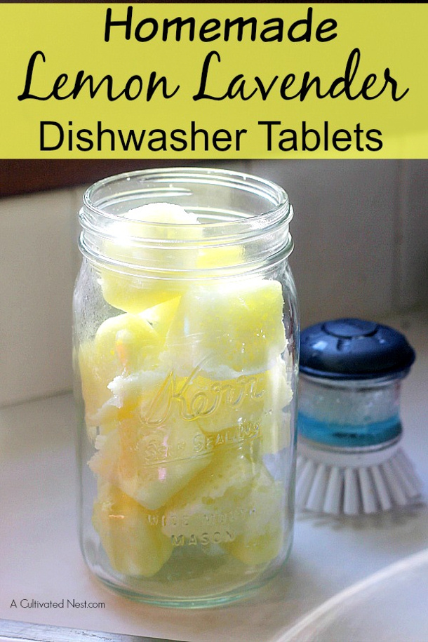 homemade-dishwasher-tablets a cultivated nest