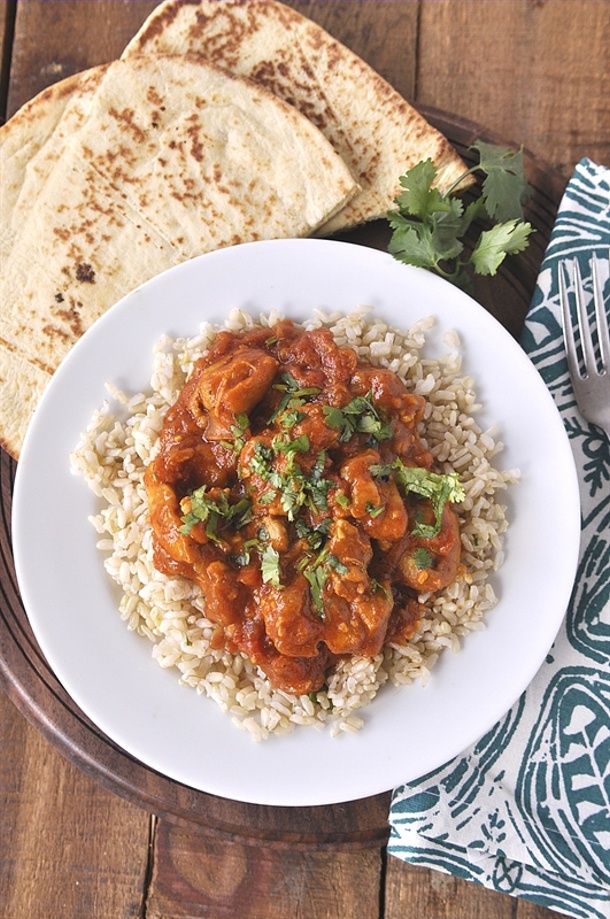 {Dairy and Gluten Free} Curried Coconut Chicken Recipe via Your Homebased Mom