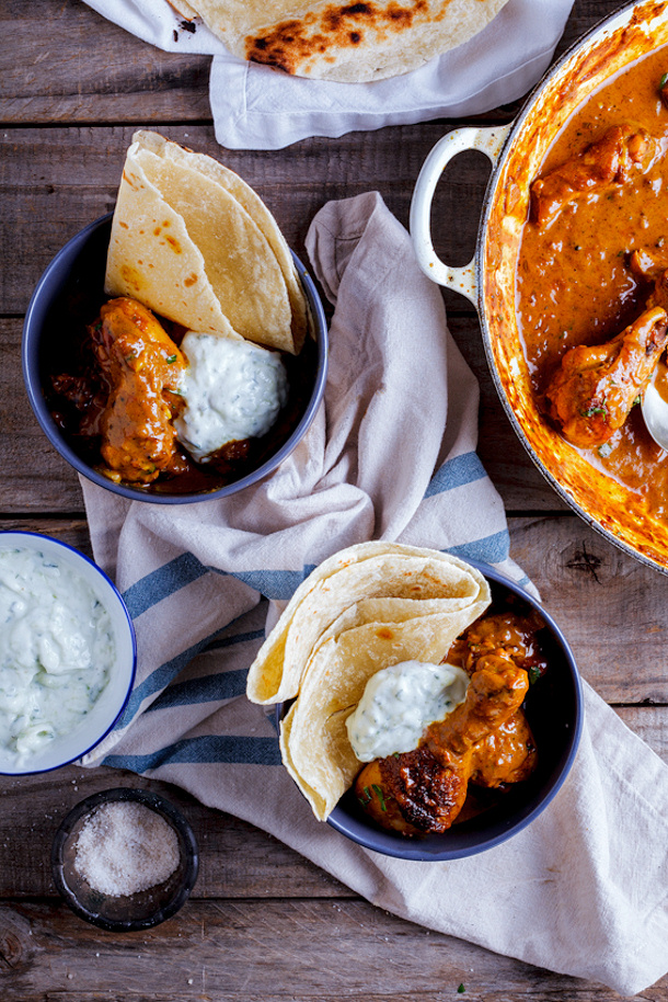Chicken Curry Recipe - Easy Weeknight Chicken Curry with Cucmber ...