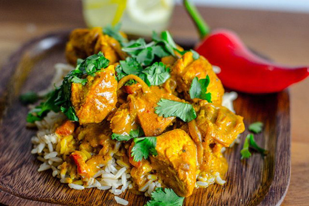 Chicken Curry Recipe - Healthy Coconut Chicken Curry Recipe via eHow