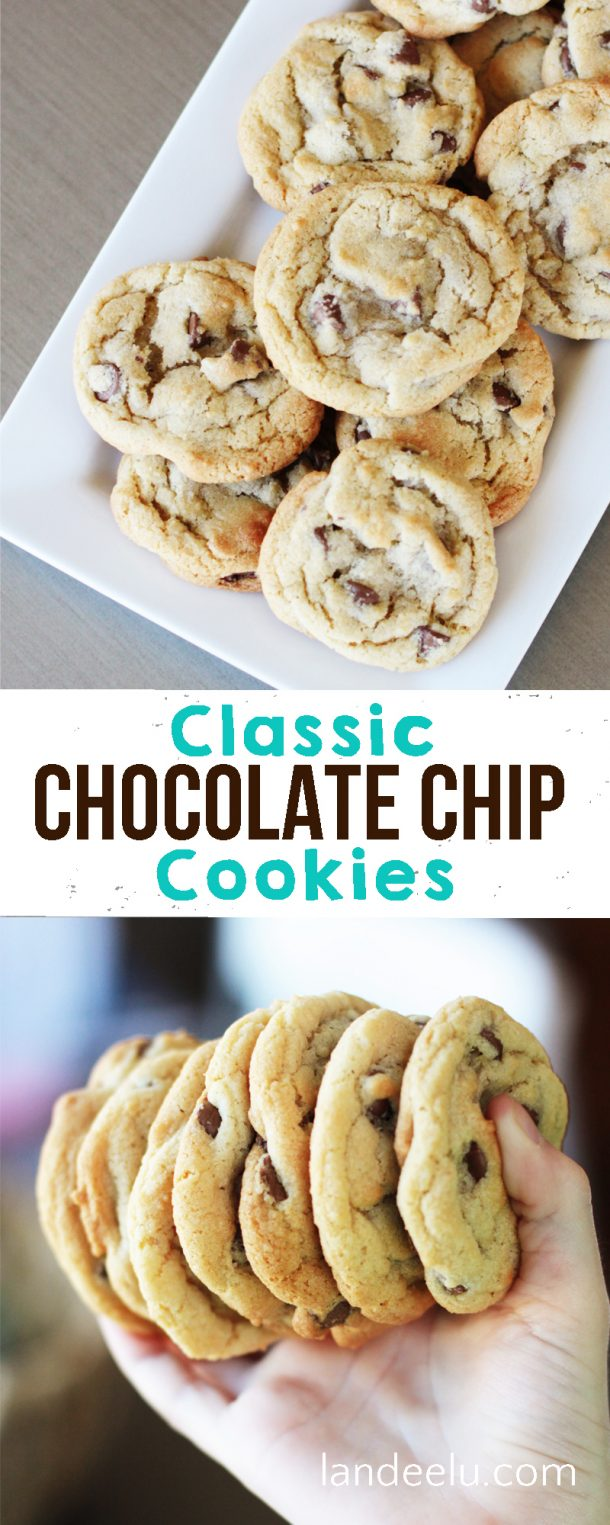 Classic Chocolate Chip Cookies - landeelu.com
