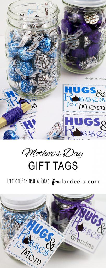 Mother's Day Gift Tags (free printable) - landeelu.com