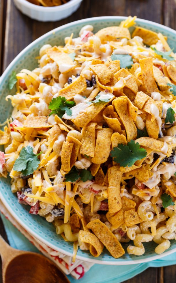 Pasta Salad Recipe - Delicious BBQ Ranch Pasta Salad with a Southern ...