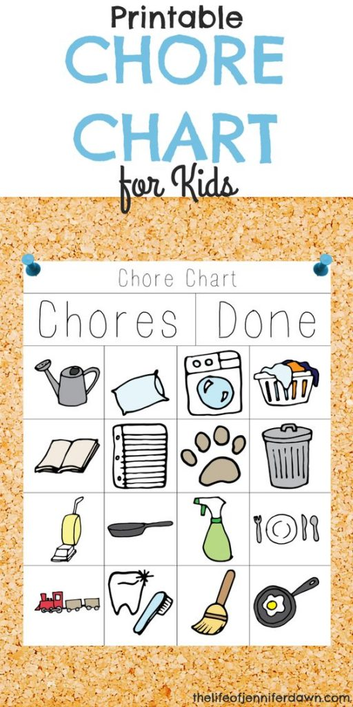 Awesome Chore Charts That Work! - Landeelu.Com