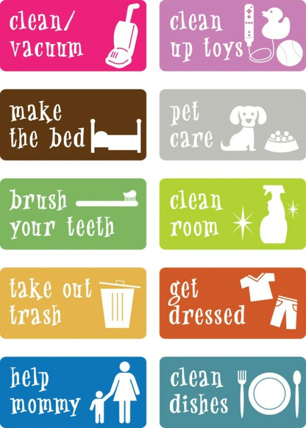 picture about Free Printable Chore Cards identified as Remarkable Chore Charts That Get the job done! -