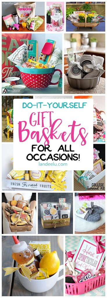 Do it yourself gift basket ideas for all occasions for Diy gift ideas for women