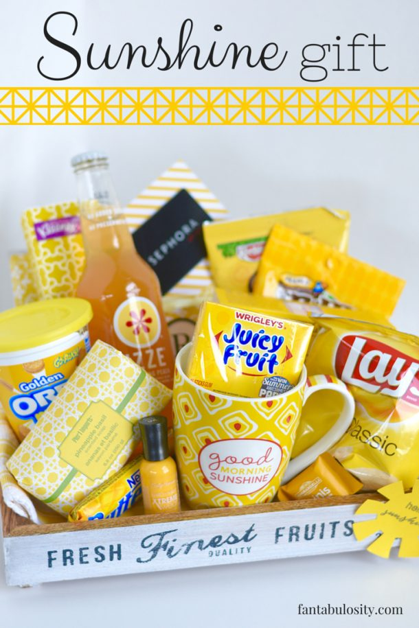 Do it yourself gift basket ideas for all occasions landeelu do it yourself gift basket ideas for all occassions box of sunshine in a crate solutioingenieria Image collections