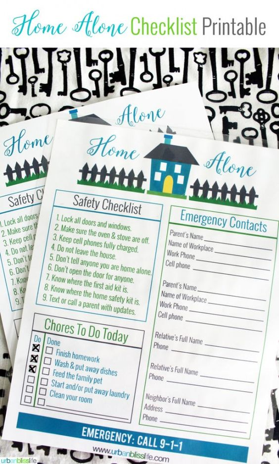 http://www.landeeseelandeedo.com/wp-content/uploads/2016/06/Organizational-Printables-Home-Alone-Checklist-for-Kids-Printable-via-Todays-Creative-Life.jpg