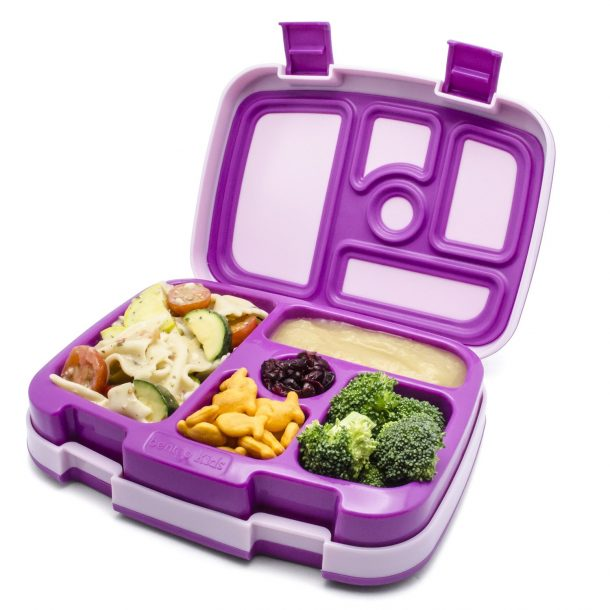 Bentgo Kids Insulated Lunchbox with fun compartments - Fun Back to School Lunch Ideas and Snacks