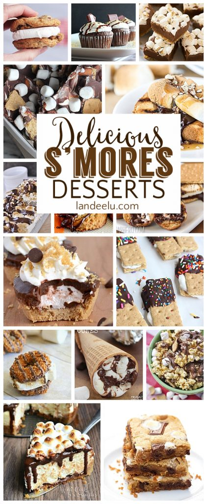 I love s'mores and can't wait to try all of these smores dessert recipes!