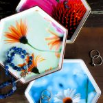 Decoupage Jewelry Dishes (and free printables)