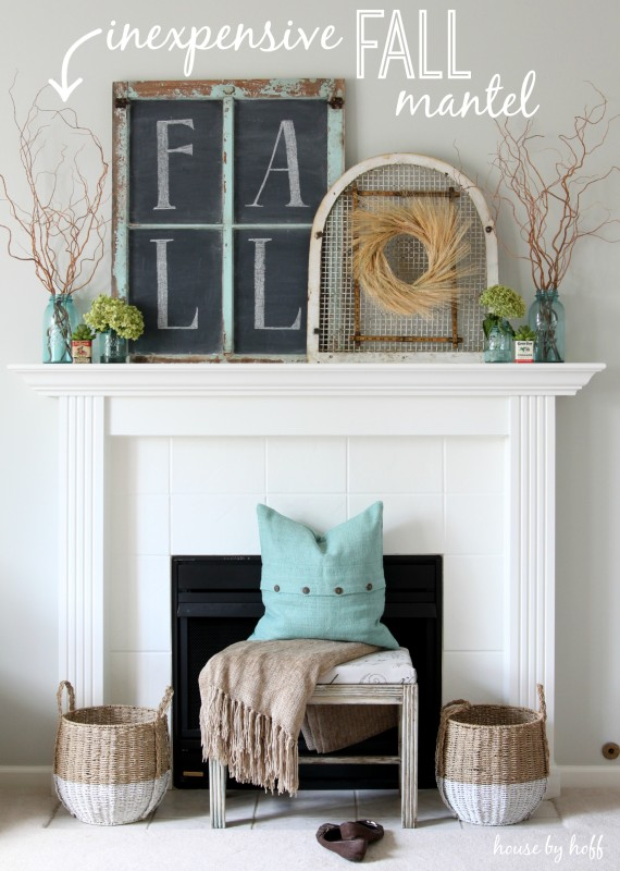 Diy Fall Mantel Decor Ideas To Inspire