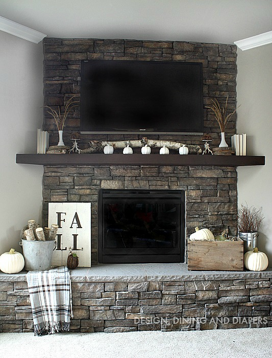 Diy fall mantel decor ideas to inspire for Neutral home decor ideas